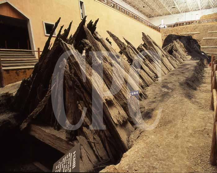 印山越王大墓の写真なら、ストッ...